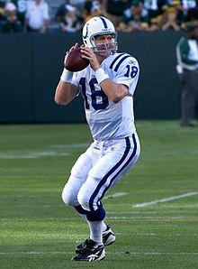 Peyton Manning Colts QB